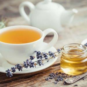 lavender tea honey